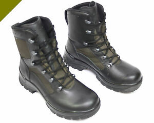 Original Bw Kampfstiefel Haix Tropen Stiefel Leder Bundeswehr Schuhe Outdoor Business & Industrie Arbeitskleidung & -schutz