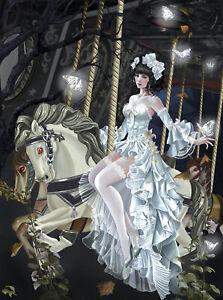 Haunted-Carousel-par-Nene-Thomas-SunsOut-1000-Piece-Fantasy-PUZZLE-NEUF