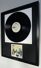 Oasis-'Definitely Maybe' Original Vinyl Album-Luxury Box Framed-Limited Edition
