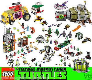 LEGO-TURTLES-79100-79101-79102-79103-79104-79105-79115-79116-79117-79118-79119