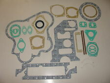 "New Fordson Dexta SUPER Dexta ""Perkins A3.152"" Bottom Gasket Set with seal(ROPE)"