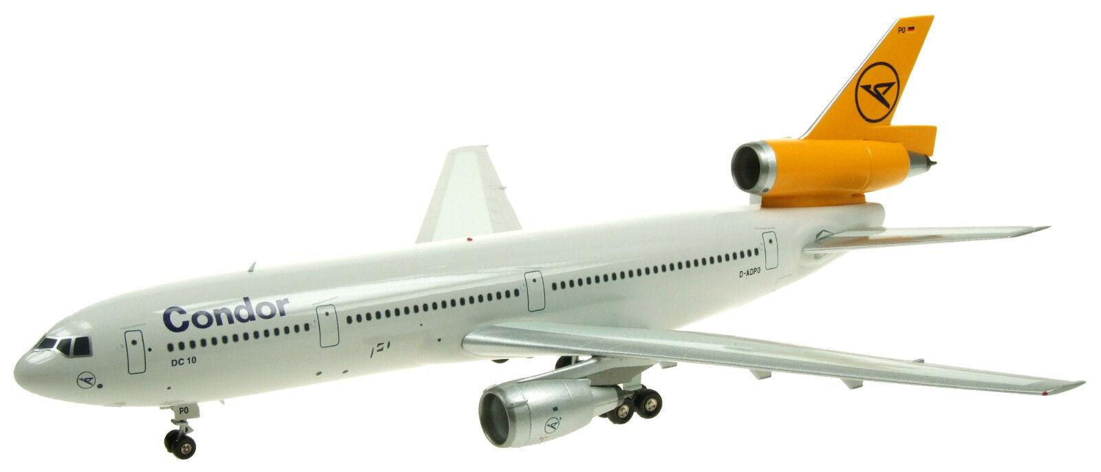 Jfox WBDC 103007 1 200 Condor DC-10-30 D-ADPo con Soporte