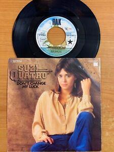 Suzi-Quatro-Don-039-t-Change-My-Luck-7-034-1-German-Pressing-1978