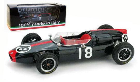 Brumm R320 COOPER T53   18 GERMAN GP 1961-JOHN SURTEES scala 1/43