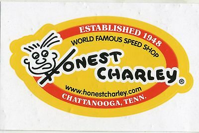 hot rod sticker Honest Charley speed shop Chattanooga TN drag race