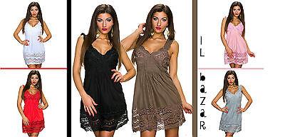 Dettagli su Zara Vestito con Intaglio Mini Abito Bianco Sangallo M Media 8 10 6 38