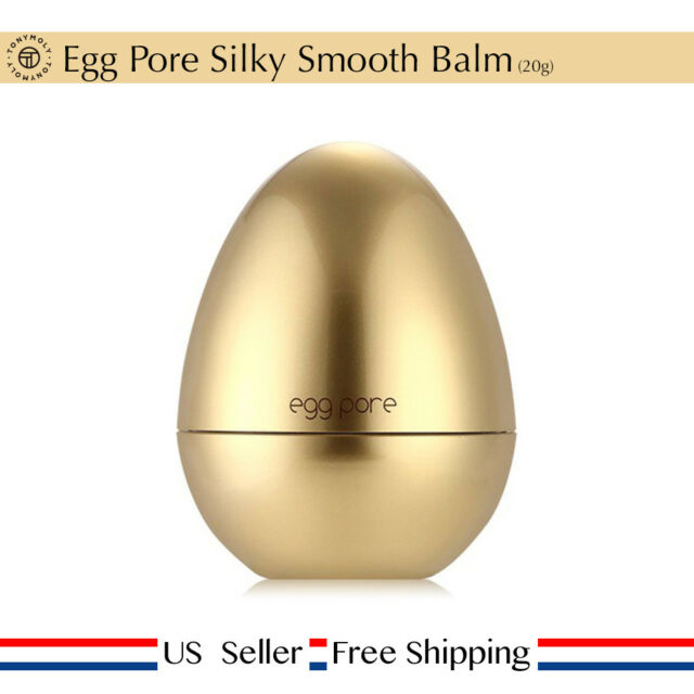Tony moly Egg Pore Silky Smooth Balm 20g + Free Sample [ US Seller ]