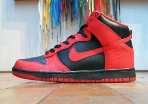 Nike SB Dunk High - Black Action Red