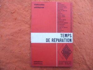 TEMPS-DE-REPARATION-R-S-3275-RENAULT-utilitaires-Galion-Estafette-janvier-1965