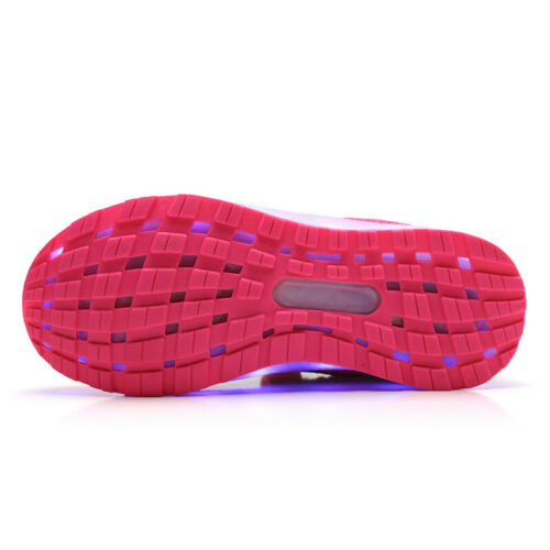 New Kids LED Luminous Shoes Children Boys Girls Light Up Sneakers Trainers Shoes