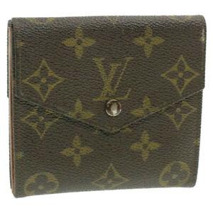 LOUIS-VUITTON-Monogram-Porte-Monnaie-Billets-Wallet-M61660-LV-Auth-13223