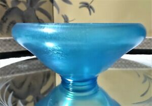 FENTON-VINTAGE-BLUE-IRIDESCENT-ILLUMINATING-COLOR