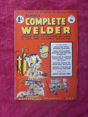 Metalworking Manuals, Books & Plans Magazines Part 8 Discounts Sale Nice Vintage Newnes Complete Welder Magazine