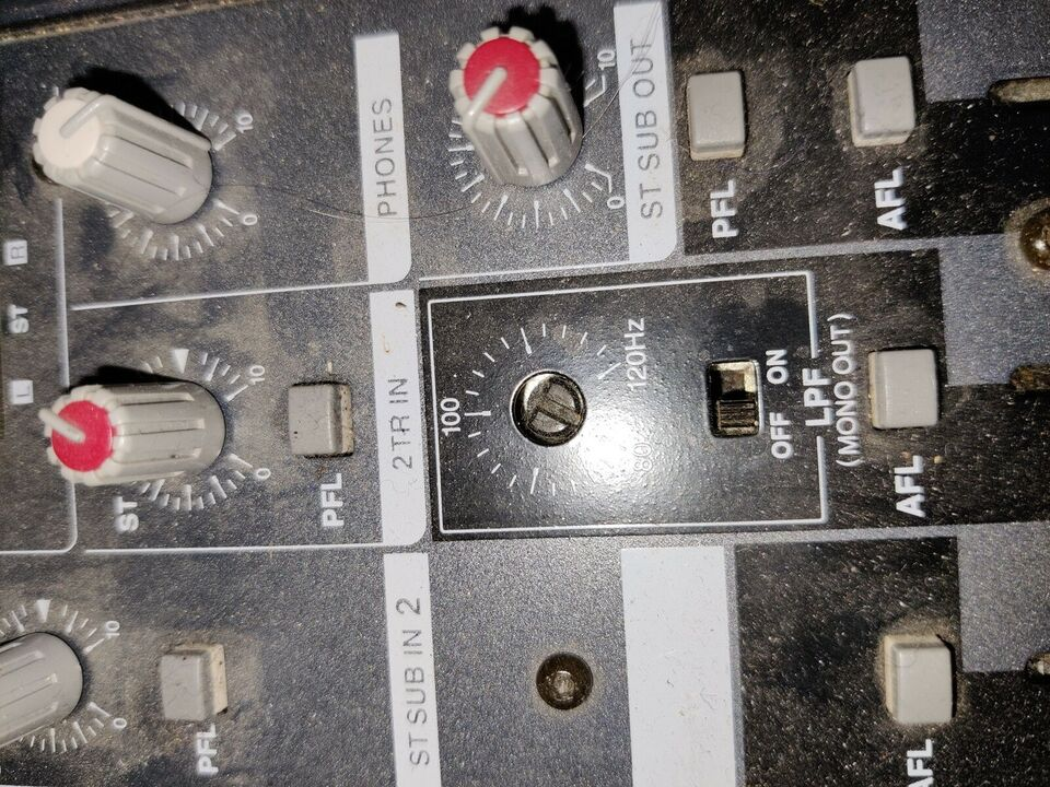 Mixer, 20 kanaler + effekter, Yamaha Emx 5000 20 channel