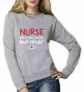 Nurses Funny Women Hoodie Gift Idea Professional Nurse Who Says F*ck A Lot