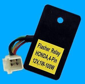 indicator relay for led and standard indicator fits honda. Black Bedroom Furniture Sets. Home Design Ideas