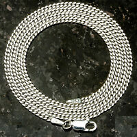 Curb 060-24 1.5mm 7 Gram Italian Link .925 Sterling Silver Chain 24 on sale