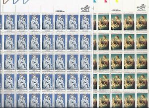Christmas Stamps 20% off face-(1) 22c & (1) 20c sheet of 50 stamps...FV of $21