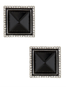 5129ab92d Rachel Zoe Womens Pyramid Button Clip On Earrings 0327 656514464564 ...