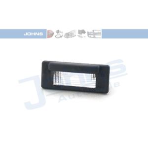 Plaque d/'immatriculation éclairage double face-Johns 50 63 87-95