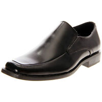 Mens Stacy Adams Cassidy Basic Black Leather Loafer Slip On Comfort Dress Shoes