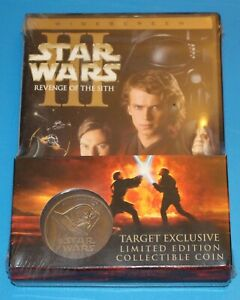 STAR-WARS-REVENGE-OF-THE-SITH-TARGET-Excl-w-COIN-EPISODE-III-2005-WIDESCREEN-DVD