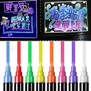 8-Colors-Highlighter-Fluorescent-Liquid-Chalk-Marker-Pen-for-LED-Writing-Board