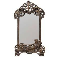 Miroir muraux maquillage fer art nouveau style antique 50cm