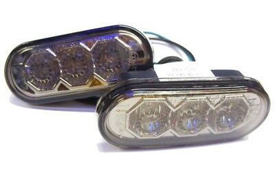 Volkswagen Bora 98-05 Smoked LED Side Repeaters 1 Pair