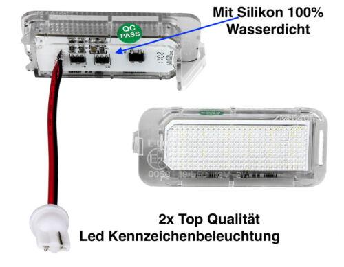 2x TOP LED SMD Kennzeichenbeleuchtung Ford C-Max II 2 DXA//CB7 DXA//CEU KS1