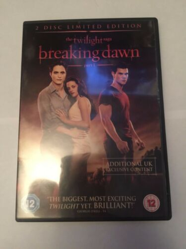 1 of 1 - The Twilight Saga - Breaking Dawn - Part 1 (DVD, 2-Disc Set) limited edition