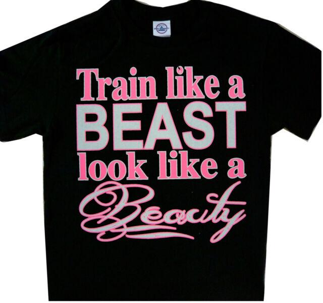 Train Like A Beast, Look Like A Beauty  Short Sleeve T-Shirt