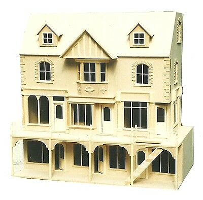 Doll House  YORK ST Row of 3 Shops with 6 Rooms  Ready Made  12th scale