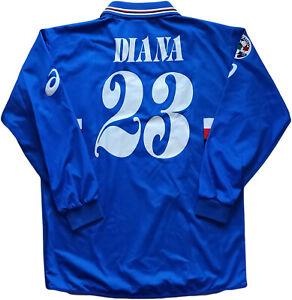 Shirt-Match-Worn-Sampdoria-football-Diana-Asics-erg-2003-2004-Shirt-Jersey-XL