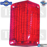 68 El Camino / Wagon Tail Light Lamp Lens Usa - Rh