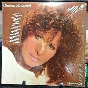 BARBRA-STREISAND-Memories-Album-Released-1981-Vinyl-Record-Collection-US-pressed