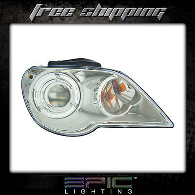 Fits 2007-08 Chrysler Pacifica Headlight Headlamp Left Driver Only