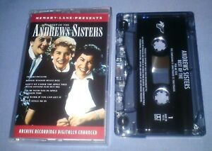 THE-ANDREWS-SISTERS-THE-BEST-OF-cassette-tape-album-T5633