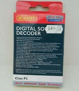 Hornby R7142 Class P2 Digital TTS Sound Decoder NEW