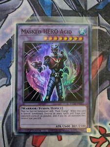 Masked HERO Acid TOCH-EN045 Super Rare  NM 1st TOON CHAOS Yu-Gi-Oh