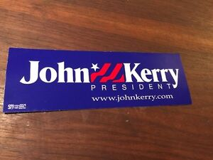 2004-John-Kerry-Presidential-Campaign-bumper-stickers