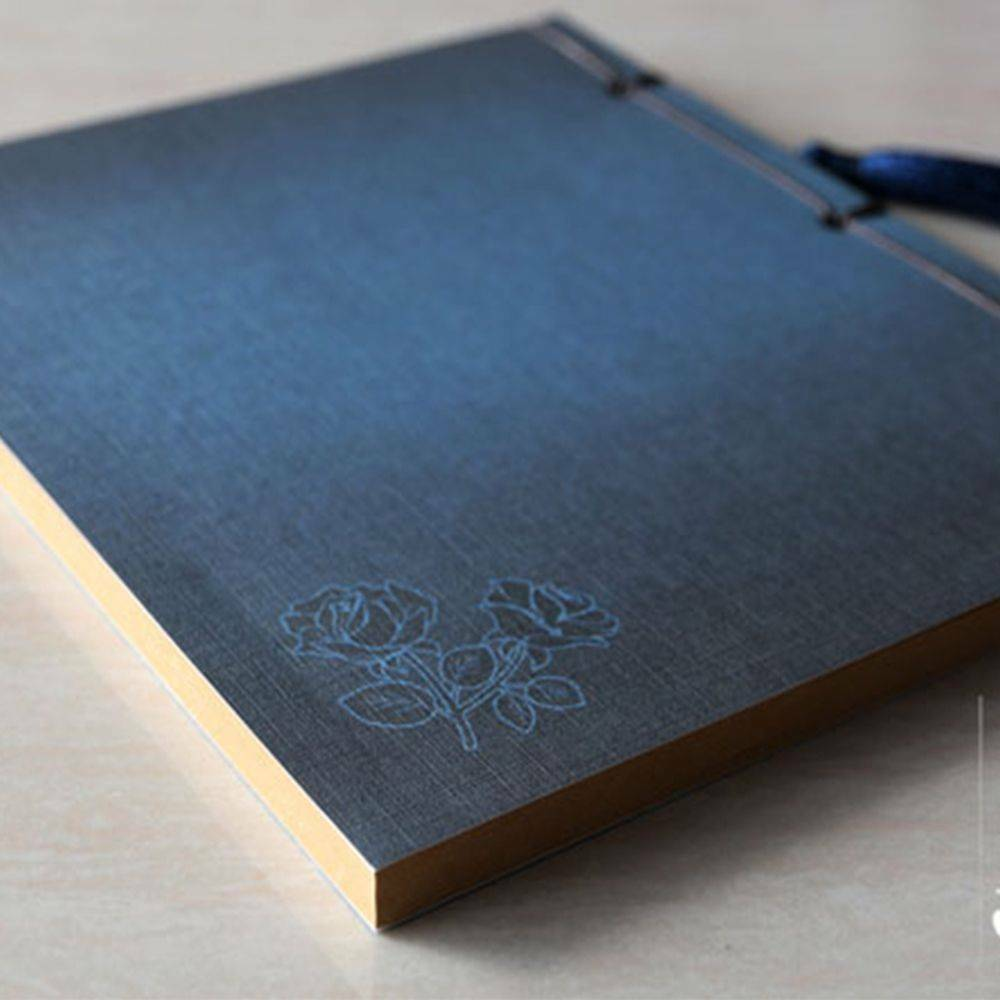 Stylish Notebook Traditional Chinese style booklet Thread Binding Bookbinding