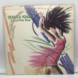 "Chaka Khan I Feel For You Remix LP 12"" Maxi Single Record Chinatown VG Record"