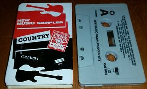 Coca-Cola-New-Country-Music-Sampler-Cassette-Joe-Diffie-Shelby-Lynn-RARE-Promo