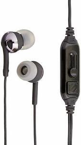 SCOSCHE IDR657mbk Premium Noise Isolation Earphones with Increased Dynamic Range