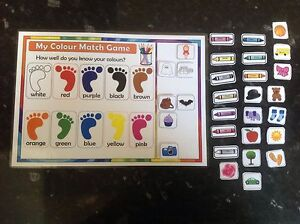 colour matching game learning colours interactive game ks1 eyfs sen ...