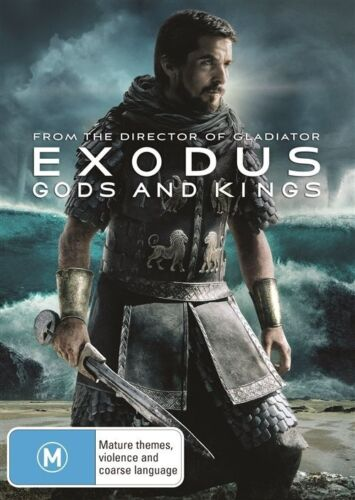 1 of 1 - Exodus - Gods And Kings (DVD, 2015) NEW R4
