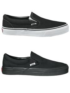 Scarpe VANS Classic Slip On Black e Black/Black Uomo/Donna Unisex