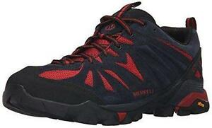 Merrell-Capra-Men-039-s-Lace-Up-Navy-Red-Hiking-Shoes-Sz-13-M-New