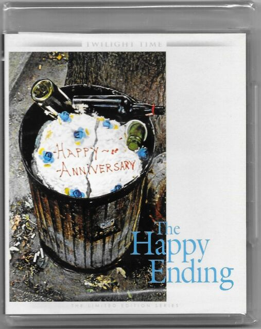 The Happy Ending Blu Ray (1969) Twilight Time New All Regions Free Reg Post